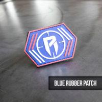 Blue Rubber Patch
