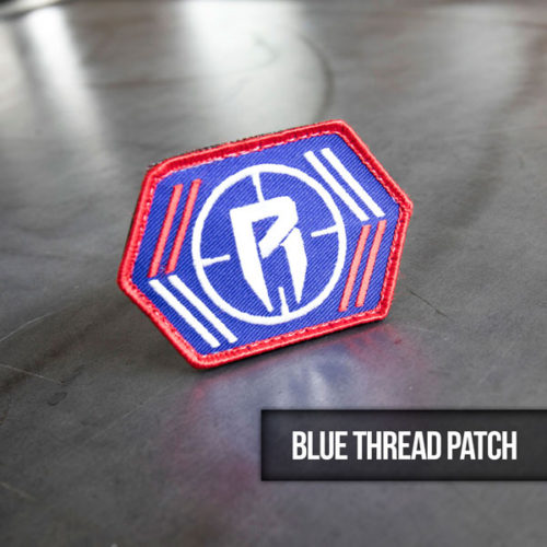 blue thread hunting patch
