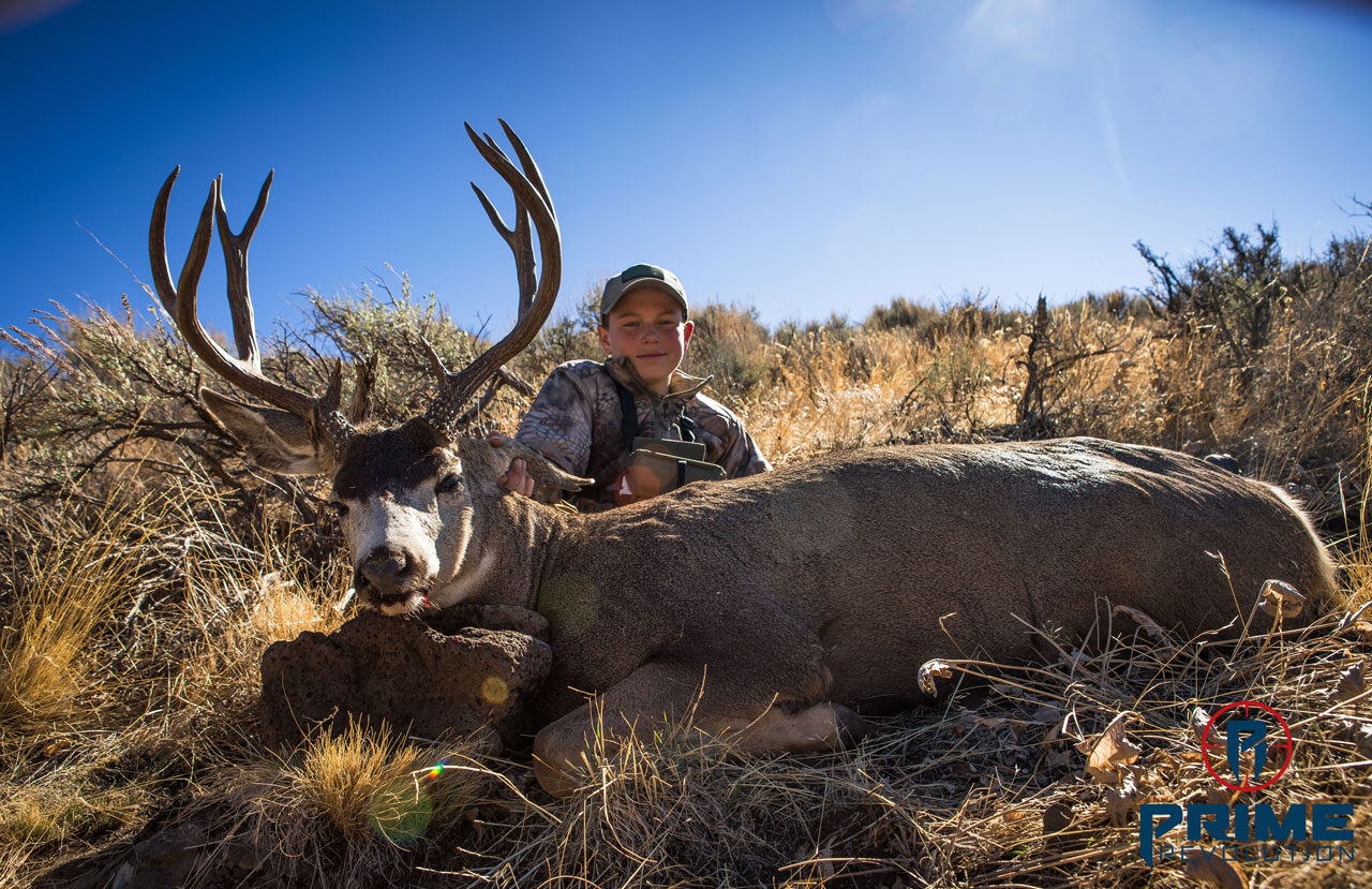 Joey's Mule Deer Kill