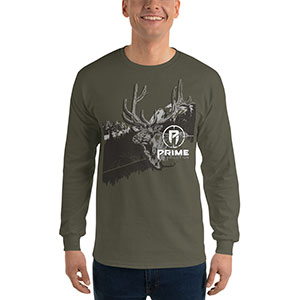 Prime Revolution Long Sleeve Elk Shirt